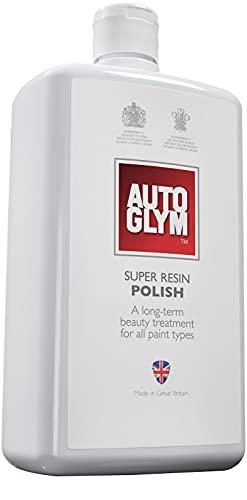 Autoglym Super Resin Polish Auto Politur -Poliermittel Entfernt Kratzer und Schrammen, Wachsähnlicher Schutz für Autolacke - 1L