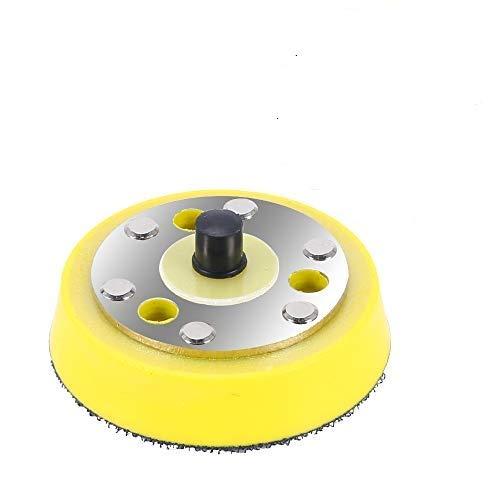 KAILEE Polierteller 75mm 5/16-24 Stützteller Polierpad Adapter für Exzenter Poliermaschine Exzenterschleifer Winkelschleifer zum Schleifen Polieren