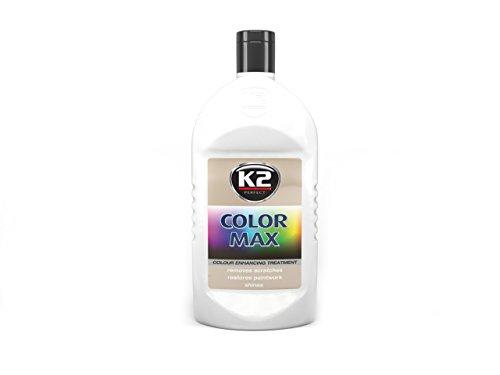 1x K2 COLOR MAX Silber 200ml Autopolitur Autowachs Farbpolitur Lack Pflege Wax