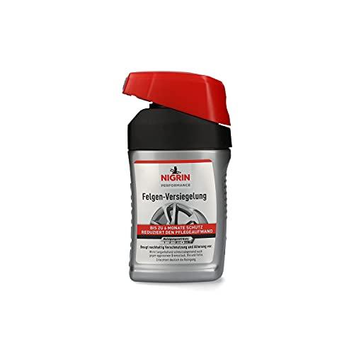 NIGRIN 73904 Performance Felgen-Versiegelung 300 ml, für alle Aluminium-, Stahl-, verchromten, und polierten Felgen