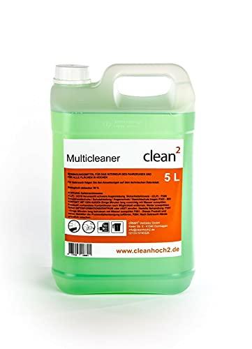 Clean2 5 Liter Reiniger Teppichreiniger, Polsterreiniger Reinigungspistole,Innenreiniger