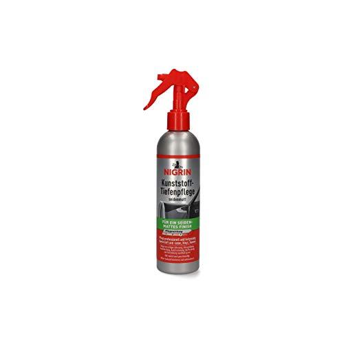 NIGRIN 74036 Kunststoff-Tiefenpflege 300 ml seidenmatt