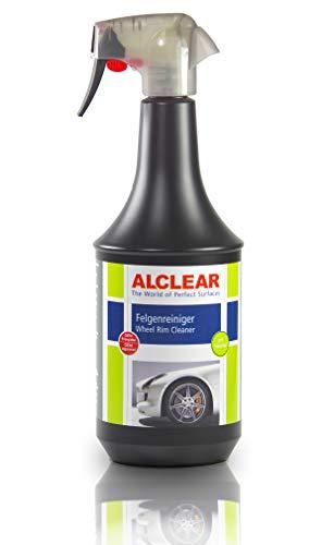 ALCLEAR Premium Auto Felgenreiniger für lackierte Alufelgen Stahlfelgen Chromfelgen, säurefrei, mit Wirkindikator, 1.000 ml