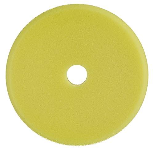 SONAX ExzenterPad medium 143 DA (1 Stück) weicher, offenporiger Schwamm zum maschinellen Polieren von Lacken mit Exzentermaschinen | Art-Nr. 04933410