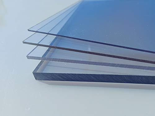 Polycarbonat Platte farblos 1000 x 600 x 0,75 mm transparent Zuschnitt PC alt-intech®