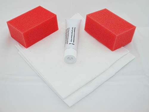 CABRIODOC Cabrio Verdeck PVC Kunststoff Heckscheibe Politur Pflege Set