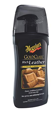 Meguiar's G17914EU Gold Class Rich Leather Cleaner/Conditioner Lederreinigung- und pflege, 400 ml