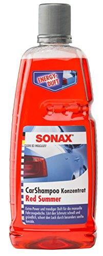 SONAX 217300 CarShampoo Konzentrat Red Summer, 1 Liter