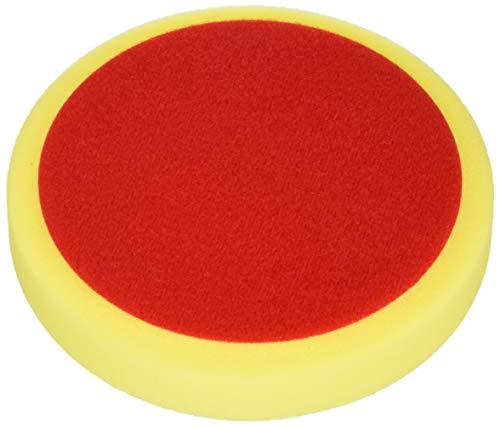 ALCLEAR Schleifpad, Auto Polierschwämme Polierschwamm, medium, Durchmesser : 160x30 mm, gelb,2er Set, Polierpad polieren Pad Schwamm Polierschaum f. Poliermaschine