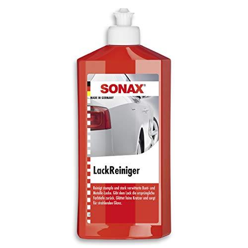 SONAX LackReiniger (500 ml) kraftvolle Politur für stumpfe und stark verwitterte Bunt- und MetallicLacke   Art-Nr. 03022000