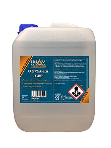 INOX IX 300 Motor-Kaltreiniger, Reinigungsmittel-Konzentrat gegen Öle, Teer und Fette - 5 Liter