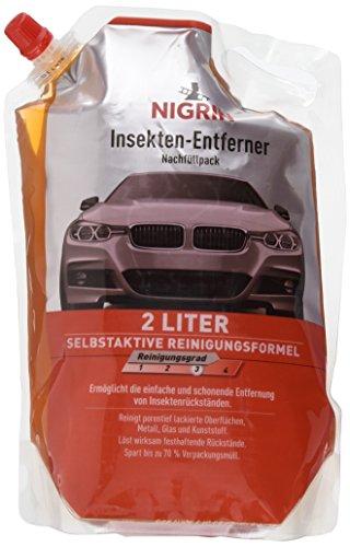 NIGRIN 20008 Insekten-Entferner Nachfüllpack 2 Liter