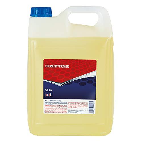 AD Chemie Teer- und Harzentferner CT 56 5L Kanister gegen hartnäckige Verschmutzungen Entferner Insekten Fett Reiniger Teer Öl Stein Teerentferner Kfz Bitumen Reinigungsmittel 4727010042