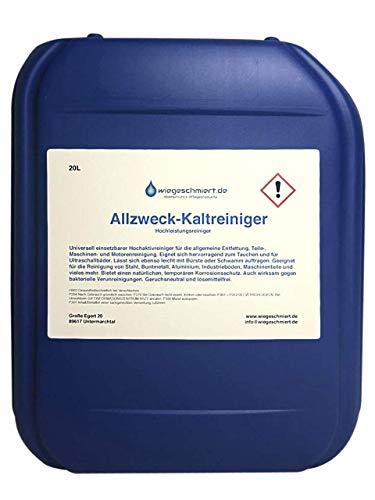 Allzweck Kaltreiniger | Wasserbasierter Universalreiniger zur allgemeinen Motor- und Teilereinigung (20 Liter)