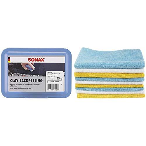 SONAX 203241 XTREME Spray&Clay LackReinigungsSet (500ml Reinigungs- & Gleitspray + 50g Reinigungsknetmasse)