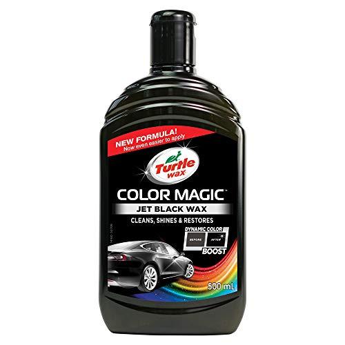 Turtle Wax 52708 Color Magic Lack Polieren Und Glänzen Für Schwarzes Auto 500Ml Schwarz