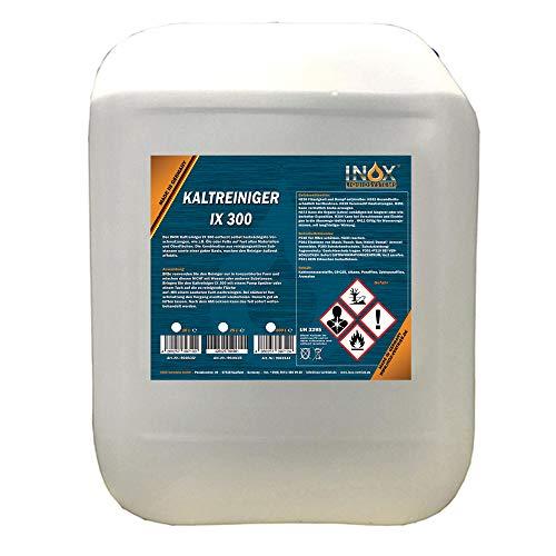 INOX® IX 300 Motor Kaltreiniger, 10L - Motorreiniger Konzentrat, Motorenreiniger gegen Öle, Teer und Fette