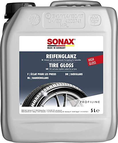SONAX PROFILINE ReifenGlanz (5 Liter) bringt bei Verwitterung die satte Farbe zurück und sorgt für perfekten Glanz   Art-Nr. 02355000