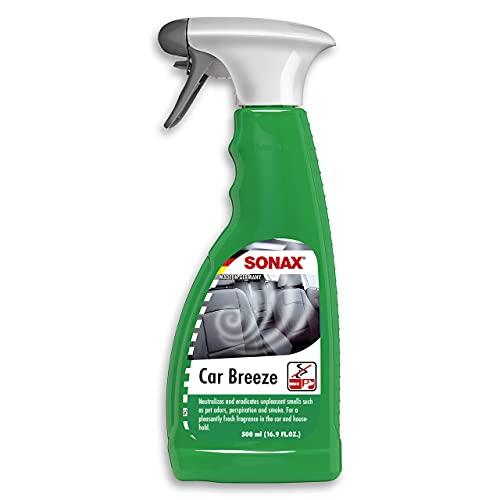 SONAX SmokeEx Geruchskiller & Frische-Spray (500 ml) befreit Textilien zuverlässig und lang anhaltend von störenden und unangenehmen Gerüchen  Art-Nr. 02922410