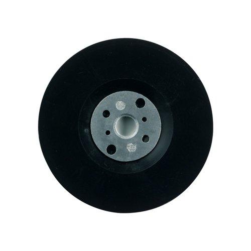 Dronco Stützteller D 125mm x M14, mit Spannschraube für Fiberschleifscheiben, für Winkelschleifer