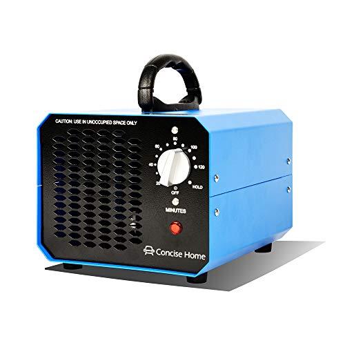 Concise Home Blau 10000mg 03 Kommerzieller Ozonisator, industrieller Ozon Luftreiniger, schwarz, Luftverbesserer, Luftsterilisator Ozone Generator