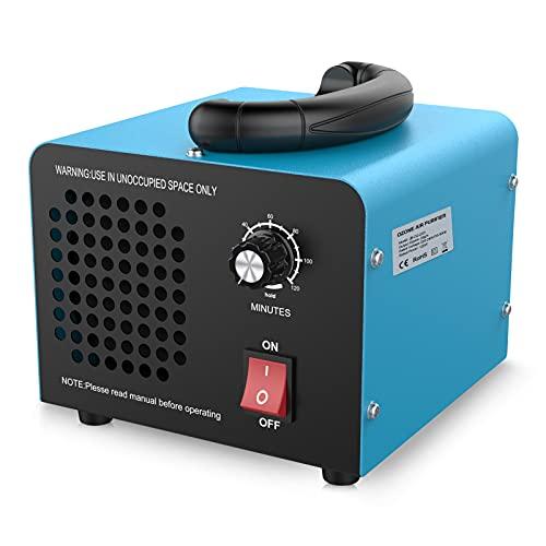 JOBYNA Ozongenerator O3 Ozon-Luftreiniger, 20,000mg/h Industrieller Ozonizzatore mit Timer, Handelsübliche Geruchskiller Geruchsentferner für Zimmer, Rauch, Autos und Haustiere