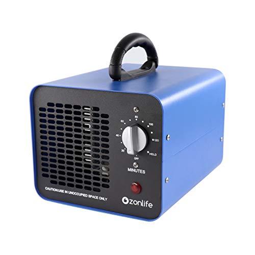 Industrieller Ozongenerator auto 10,000 MG/h, Geruchskiller Ozon-Luftreiniger mit Timer, bis zu 300㎡, Geeignet für Räume/Haushalte/Hotels/Keller