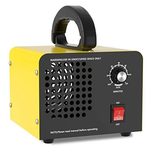 Industrieller Ozongenerator Geruchskiller 10.000mg/Std,O3 Luftreiniger Ozon Deodorant für Räume, Garagen, Bauernhöfe, Hotels, bis zu 300㎡