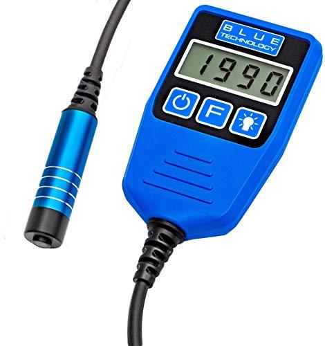 Blue Technology DX-13-S-AL Schichtdickenmessgerät Lackdickenmessgerät | Stahl & Aluminium | Coating Thickness Gauge | Lacktester für Auto | Hergestellt in EU, Blau