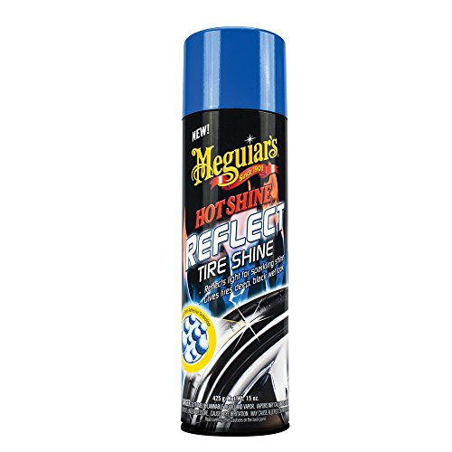 Meguiar's G18715EU Hot Reflect Tire Shine Reifenglanz, 425g