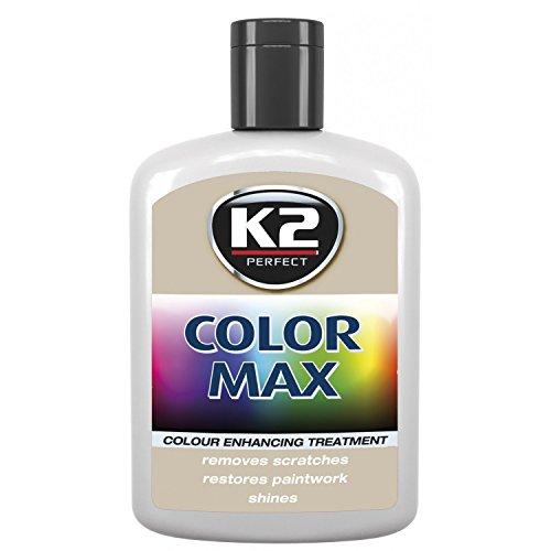 Weiß K2Color Max Autolack Polish Farbe Restorer Bezug Kratzern verbessern Glanz