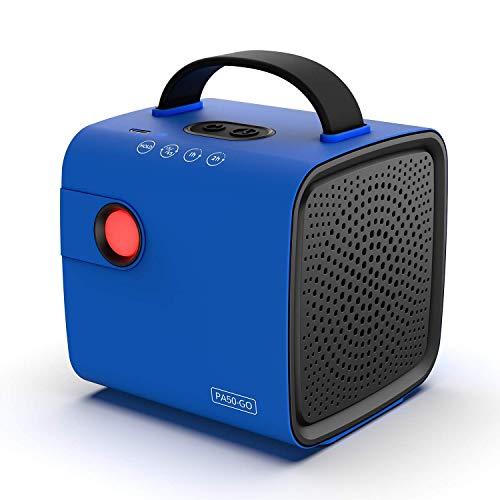 Airthereal PA50-GO Tragbarer Ozongenerator - Schnurloser, batteriebetriebener Geruchsbeseitiger für Autos, auf Reisen, im Schuhschrank und Anderen kleinen Räumen (blau)