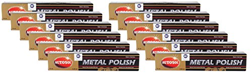 Autosol 12x Metal Polish Edel Chromglanz Metall Politur Chrompolitur 75 ml