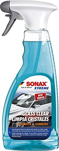 SONAX XTREME ScheibenKlar - Pure Water Technology (500 ml) besonders kraftvoller Reiniger für eine besser benetzte Glasoberfläche | Art-Nr. 02382410