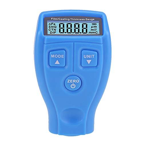 KKmoon Schichtdickenmessgerät Mini Digital Lackdickenmessgerät mit LCD Display Tester Werkzeug GM200 für Auto