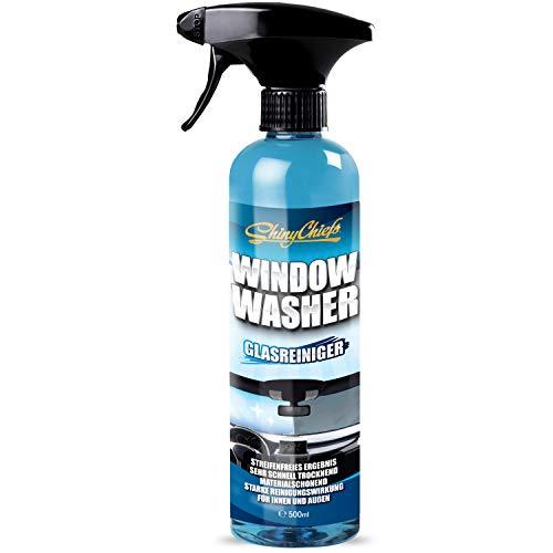 ShinyChiefs Window Washer Auto Glasreiniger Tiefenwirkung höchste Fettlösekraft Verschmutzungen Glasflächen Scheiben Spiegel (1 STK)