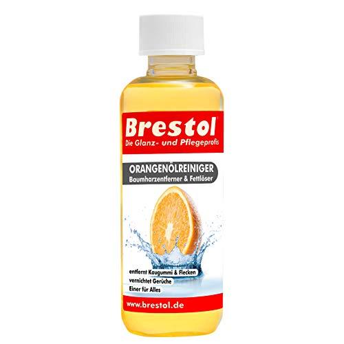 Brestol Orangenölreiniger 300 ml - Universalreiniger Fett Öl Kaugummi Baumharz Entferner Baumharzentferner Geruchsneutralisierer