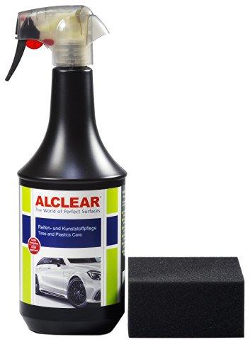 ALCLEAR 721RK Premium Auto Reifen- und Kunststoffpflege, 1.000 ml