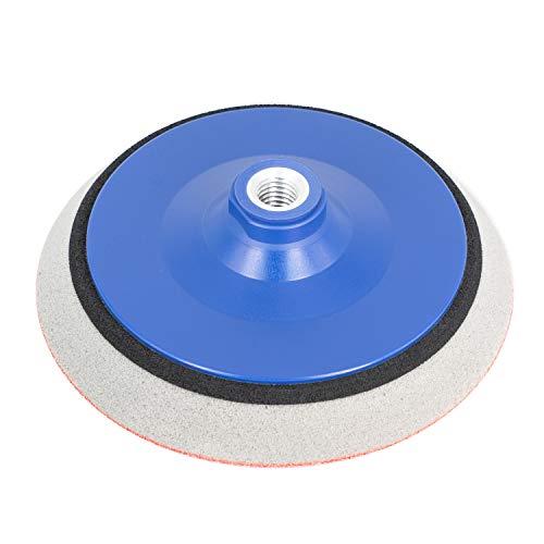Schleifteller 150 mm KLETT für Winkelschleifer mit M14 | EXTRA WEICH Schaum | Polierteller für Schleifscheiben/Polierschwämme - Stützteller in allen Größen - DFS