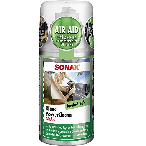 SONAX 40548209 Klimapowercleaner Apple Fresh