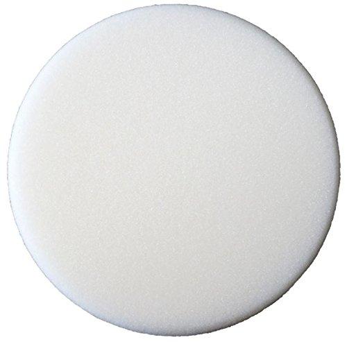 SONAX 04930410 Polier-Schwamm weiß 160 (weich) Politur 1 Stück