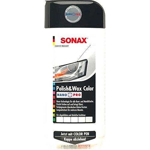 SONAX Polish & Wax COLOR Nano Son weiss 500ml 2960000 4064700296008
