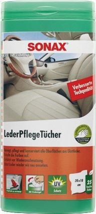 LederPflegeTücher Box SONAX LEDERPFLEGETÜCHER BOX 412300