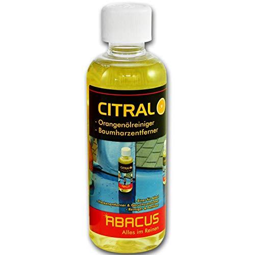 ABACUS 300 ml CITRAL- Orangenölreiniger Baumharz entferner entfetter Kleberrestenferner (4036)