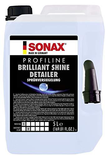 SONAX PROFILINE BrilliantShine Detailer (5 Liter) Sprühkonservierer und Glanzverstärker für das schnellste Lackfinish | Art-Nr. 02875000