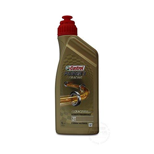 CASTROL POWER 1 RACING Motoröl Öl 2T 2-TAKT API TC+ ISO-L-EGD JASO FD - 1L