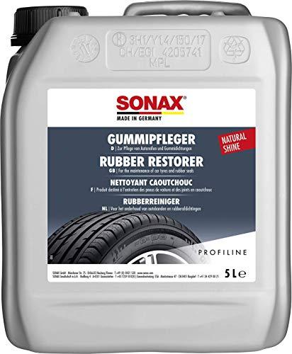 SONAX PROFILINE GummiPfleger (5 Liter) reinigt und pflegt alle Gummiteile am Auto und hält sie elastisch   Art-Nr. 03405050