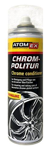 XADO Chrom-Politur Chrom-Pflege Chrom-Reiniger - Reinigung & Pflege von verchromten Oberflächen - Atomex 500ml
