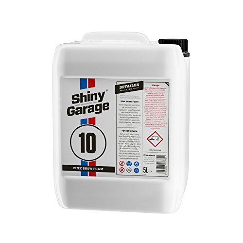 Shiny Garage Pink Snow Foam pH-neutral, 5L