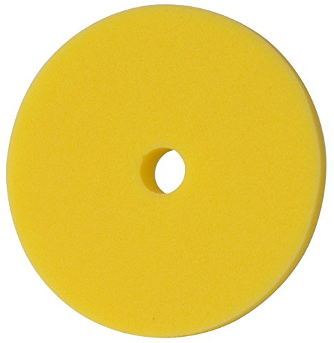 menzerna 150mm Polierschwamm rot gelb grün blau Polier Foam Pad Variante wählbar! (150mm GELB Medium Cut Foam Pad)